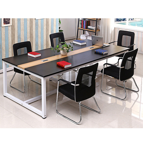 Standard Leather Lining Conference Table Image 7