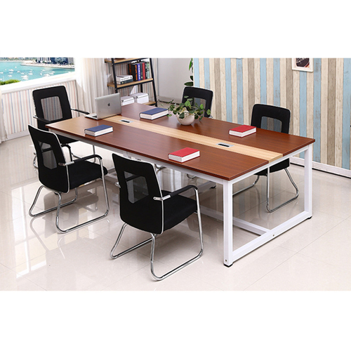 Standard Leather Lining Conference Table Image 8