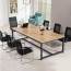 Modern Staff Training Conference Table Image 3