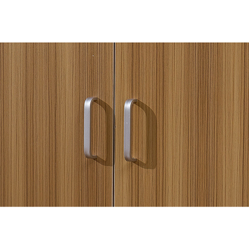 Wooden Three Piece Office Filing Cabinet Image 11