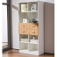 Wooden Three Piece Office Filing Cabinet Image 5