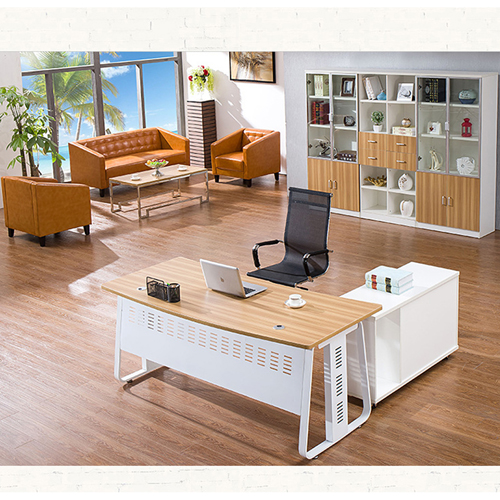 Wooden Three Piece Office Filing Cabinet Image 6