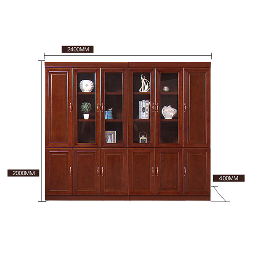 Solid Wood Office File Cabinet Wardrobe Image 13