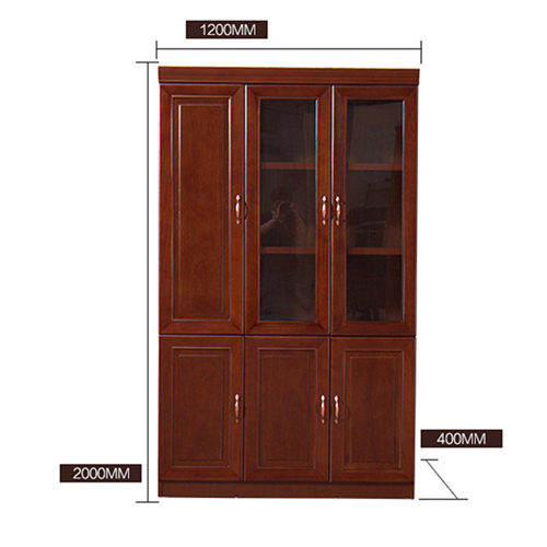Solid Wood Office File Cabinet Wardrobe Image 14