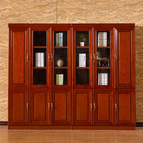 Solid Wood Office File Cabinet Wardrobe