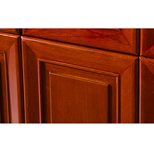 Solid Wood Office File Cabinet Wardrobe Image 6