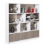 Storage Wooden Bookcase Filing Cabinet