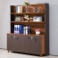 Wooden Office Bookcase Multi-function Cabinet