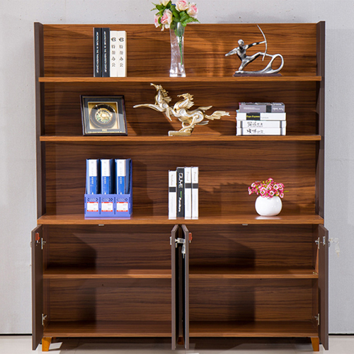 Wooden Office Bookcase Multi-function Cabinet Image 2