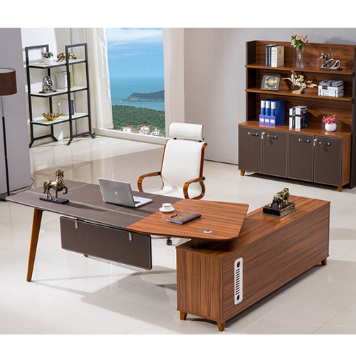 Wooden Office Bookcase Multi-function Cabinet Image 4