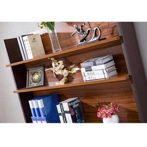 Wooden Office Bookcase Multi-function Cabinet Image 5