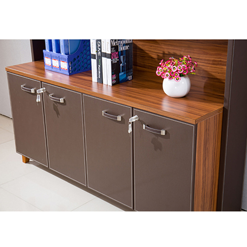 Wooden Office Bookcase Multi-function Cabinet Image 7