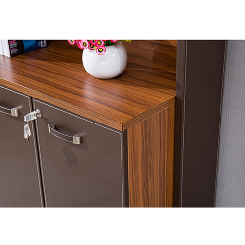 Wooden Office Bookcase Multi-function Cabinet Image 8