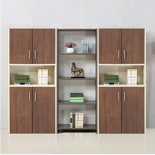 Fashion Wooden Bookcase Locker Cabinet