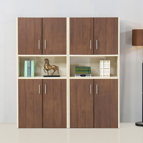 Fashion Wooden Bookcase Locker Cabinet Image 2