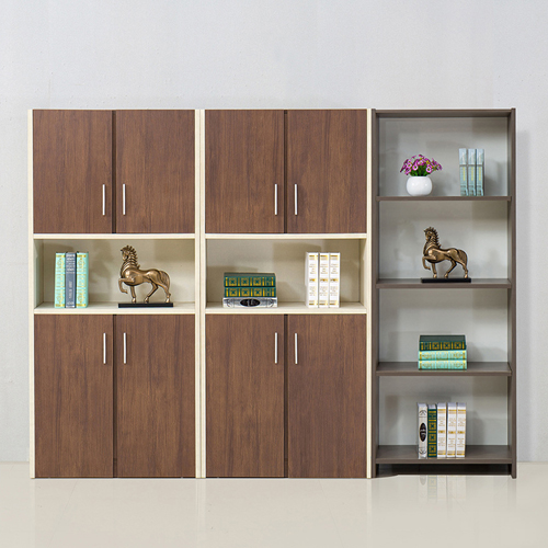 Fashion Wooden Bookcase Locker Cabinet Image 3