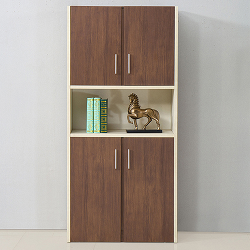 Fashion Wooden Bookcase Locker Cabinet Image 5