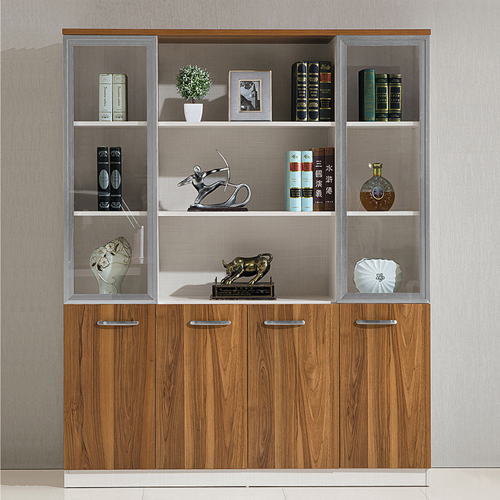 Modular Office Bookcase Display Cabinet
