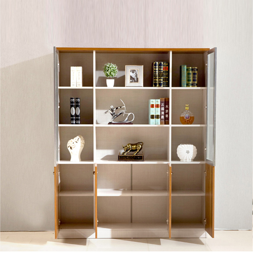 Modular Office Bookcase Display Cabinet Image 1
