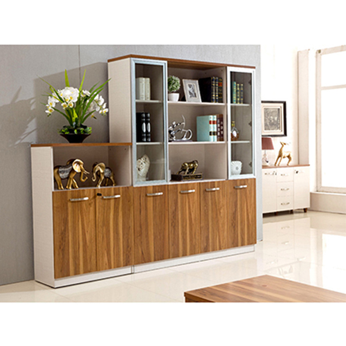 Modular Office Bookcase Display Cabinet Image 2
