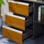 Kenichi Office Cabinet with Display Bookcase Image 7