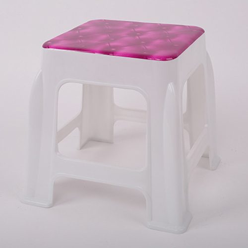 Square Stackable Kids Stool Image 2