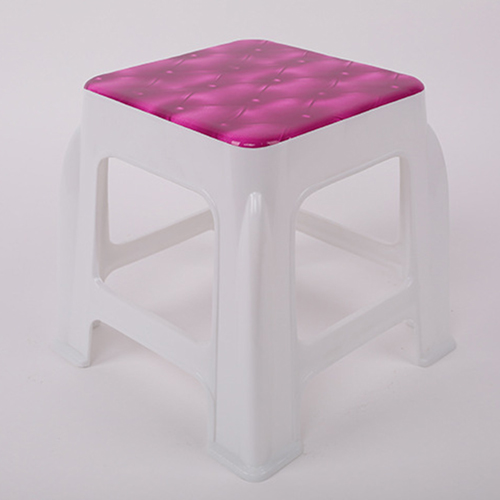 Square Stackable Kids Stool Image 3
