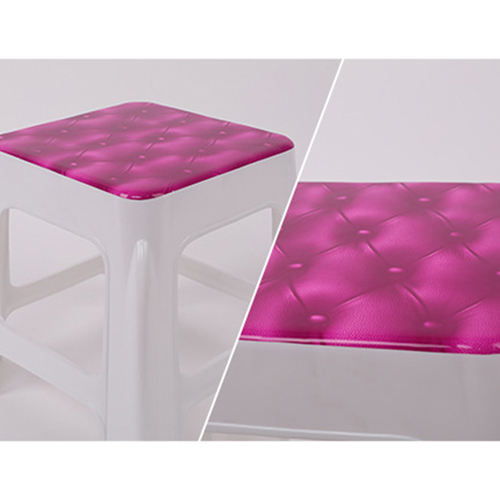 Square Stackable Kids Stool Image 7