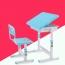 Ergonomic Adjustable Kids Study Desk Image 1