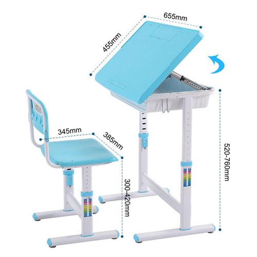 Ergonomic Adjustable Kids Study Desk Image 37