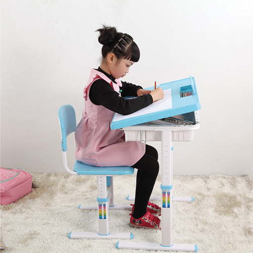 Ergonomic Adjustable Kids Study Desk Image 8