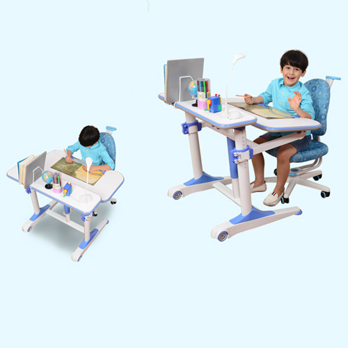 Height Adjustable Kids Learning Desk Image 11
