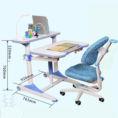 Height Adjustable Kids Learning Desk Image 17