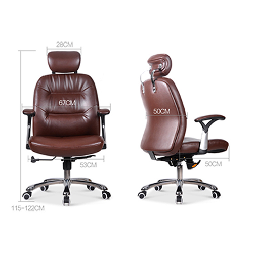 Aromacise Executive Headrest Leather Chair Image 13