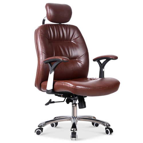 Aromacise Executive Headrest Leather Chair Image 1