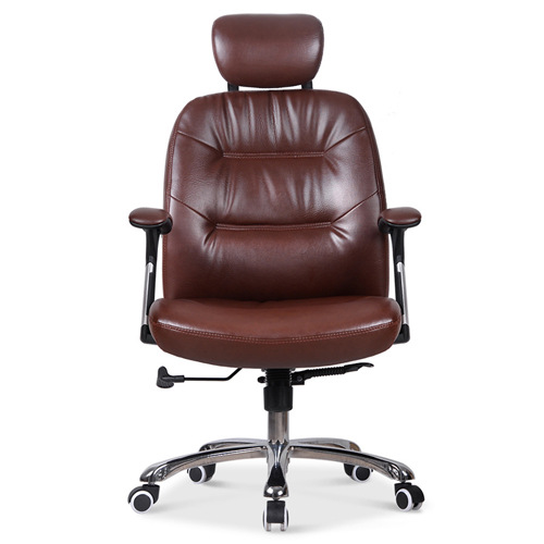 Aromacise Executive Headrest Leather Chair Image 2