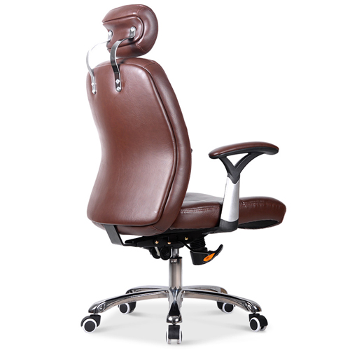 Aromacise Executive Headrest Leather Chair Image 3
