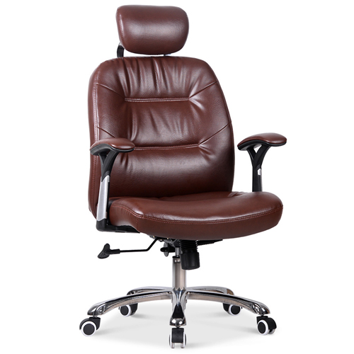 Aromacise Executive Headrest Leather Chair Image 4