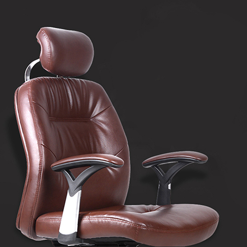 Aromacise Executive Headrest Leather Chair Image 5