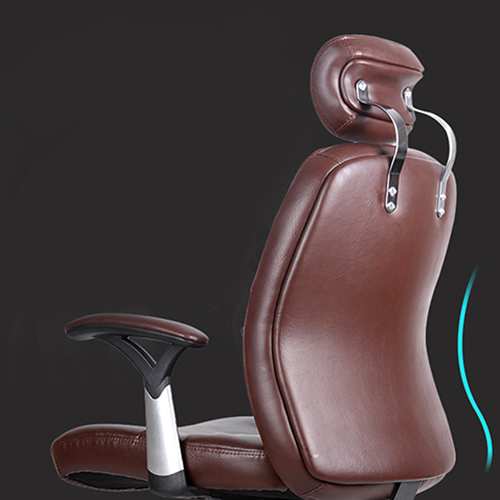 Aromacise Executive Headrest Leather Chair Image 6