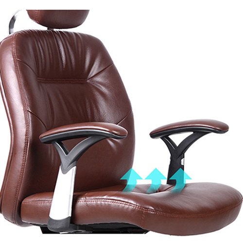 Aromacise Executive Headrest Leather Chair Image 7