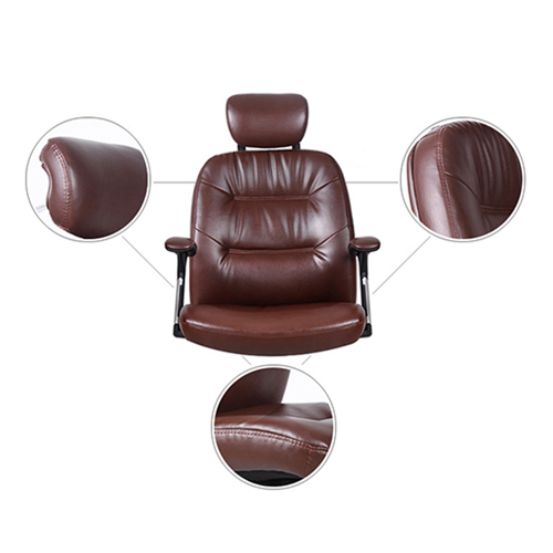 Aromacise Executive Headrest Leather Chair Image 8