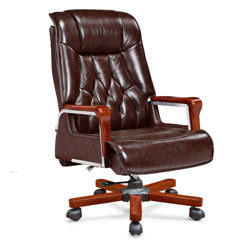 Executive Reclining Leather Office Chair