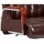 Executive Reclining Leather Office Chair Image 5
