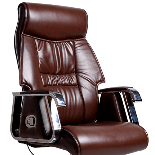 Deluxe Traditional Boss Chair with Rubber Wheel Image 10