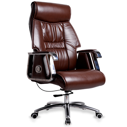 Deluxe Traditional Boss Chair with Rubber Wheel