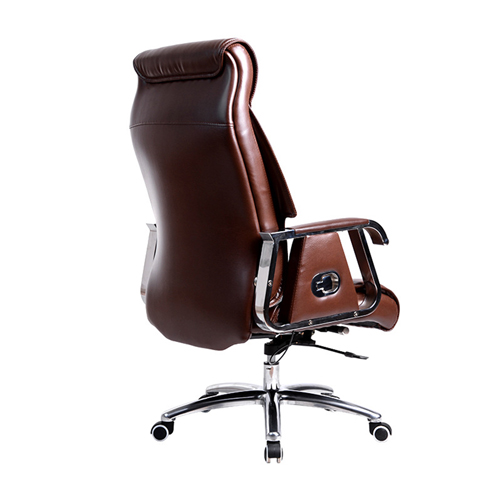 Deluxe Traditional Boss Chair with Rubber Wheel Image 2