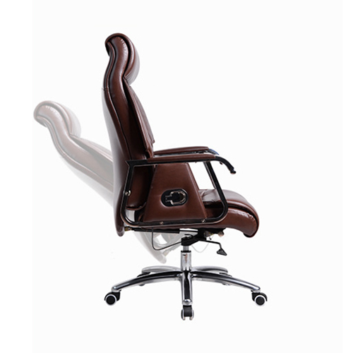 Deluxe Traditional Boss Chair with Rubber Wheel Image 3