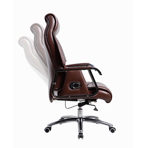 Deluxe Traditional Boss Chair with Rubber Wheel Image 4