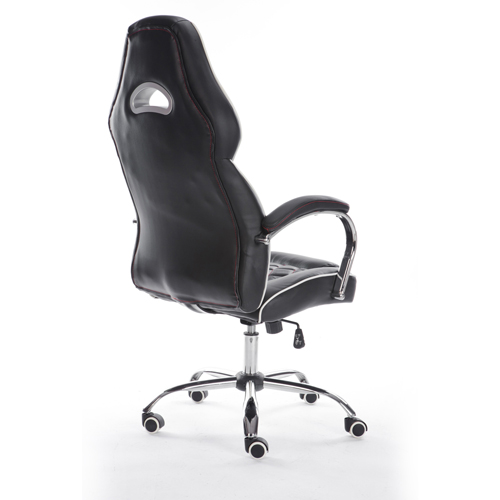 Executive Headrest Leather Modern Chair Image 2